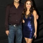 Rahul Mahajan with Dimpy Ganguli