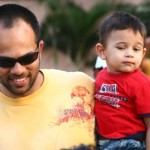 Rohit Shetty with his son