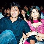 Salil Ankola with his Ex-wife Parineeta