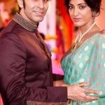 Jesse Randhawa with her husband Sandeep Soparkar