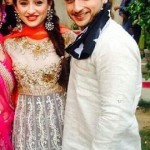 Sanjeeda Sheikh with her brother