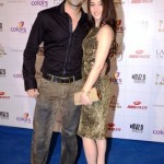 Sanjeeda Sheikh with her husband
