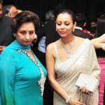 Vikrant Chibber Mother and Sister Gauri Khan