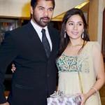 Shabir Ahluwalia with his wife