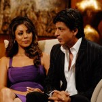 Shahrukh Khan with Gauri Khan