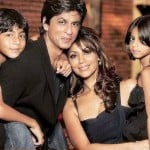 Shahrukh khan Gauri Khan and kids