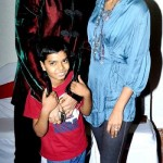 Sandip Soparrkar with his wife Jesse Randhawa & son Arjun