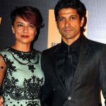 Adhuna Akhtar with her Ex-husband Farhan Akthar