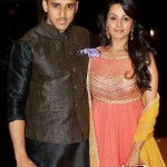 Anita Hassanandani with her husband