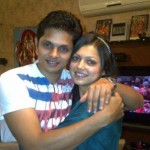 Drashti Dhami with her brother