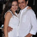 Neeraj Khemka with her wife Drashti Dhami