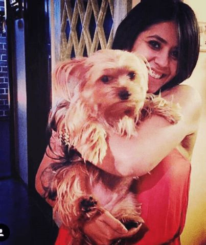 Ekta kapoor loves dogs