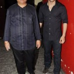 Girish Kumar with his father