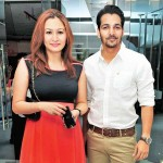 Harshvardhan Rane with Jwala Gutta