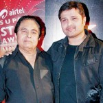 Himesh Reshammiya with his father
