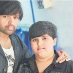 Himesh Reshammiya with his son
