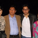 Hina Khan with her family