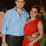 Kanika Maheshwari with her husband