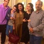 Mawra Hocane with her family
