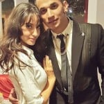 Prince Narula with his girlfriend Nora Fatehi