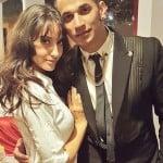Prince Narula with his girlfriend Nora Fatehi