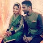 Sana Sheikh with Aijaz Shaikh
