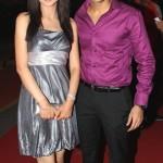 Sanaya Irani with her husband