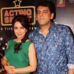 Tisca Chopra with her husband