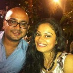 Toral Rasputra with her Ex-husband