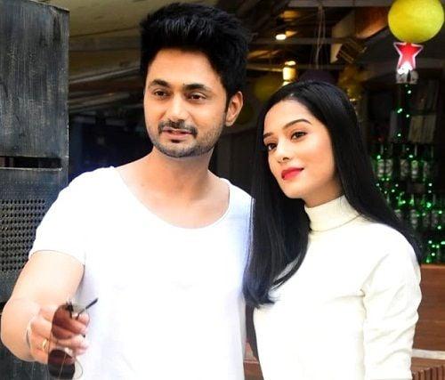 Amrita Rao with Anmol Sood