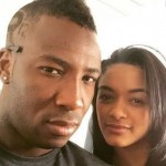 Andre Russell with Jassym Lora