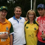 Glenn Maxwell with his family