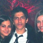 Sonam Kapoor With Her Brother And Sister