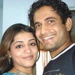 Irfan Pathan with Shivangi Dev