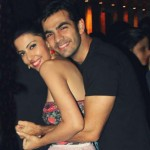 Karan V Grover with Poppy Jabbal