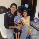 Mohammad Irfan with his children