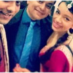 Nidhi Singh with her brothers