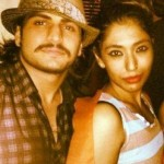 Rajat Tokas with his wife