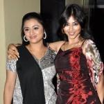 Rinku Worah with her sister