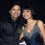 Shaan with his sister
