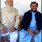 Shahid Afridi with his father