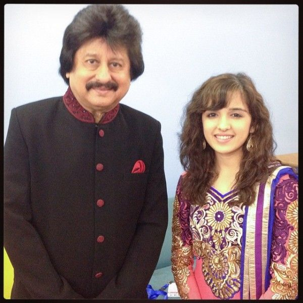Shirley Setia with Pankaj Udhas