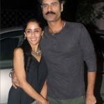 Sikandar Kher with Priya Singh