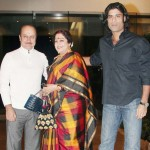 Sikandar Kher with his parents