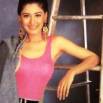 Sonali Bendre in Younger Days