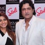 Armaan Kohli with Tanishaa Mukerji