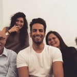 Upen Patel with his Family and Karishma Tanna