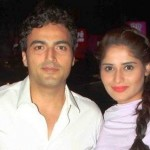 Aarti Singh with Ayaz Khan
