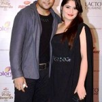Aarti Singh with her brother