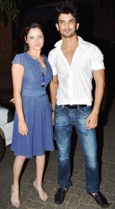Sushant Rajput with his ex-girlfriend